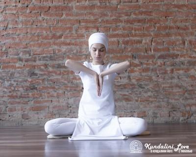 Обратная Молитвенная Мудра в Медитации Кабадше картинка
