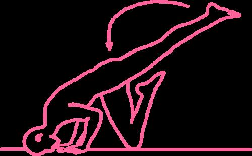 Упражнение «Балансирование с ударами пятками по ягодицам». Кундалини Йога картинка