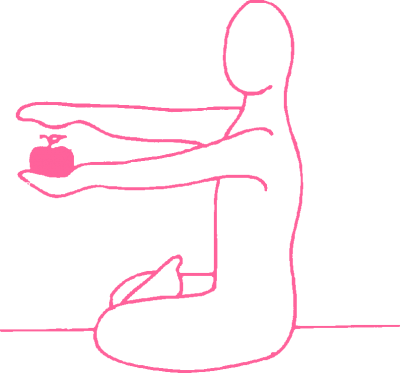 Благословение фрукта. Упражнение Кундалини Йоги картинка