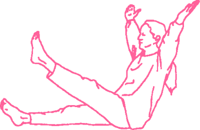 Дыхание Огня с поднятой до груди ногой - упражнение Кундалини Йоги картинка