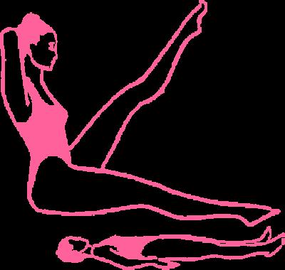 Медленное дыхание в позе сидя с поднятой левой ногой на 60 градусов картинка