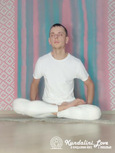 Подбрасывание тела в Позе Лотоса 1. Кундалини Йога картинка