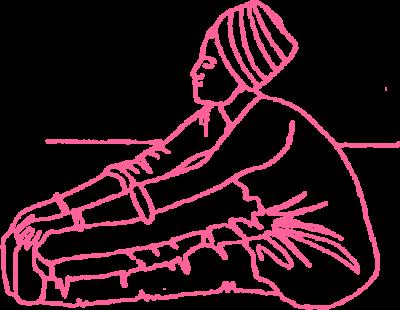 Упражнение «Качание пупком, держась руками за пальцы ног» картинка