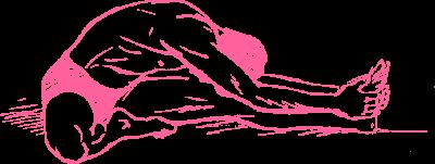 Выполнение позы Маха Мудра в Кундалини Йоге картинка