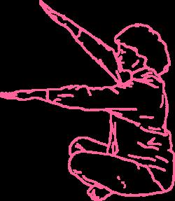 Махи руками в Простой Позе. Упражнение Кундалини Йоги картинка