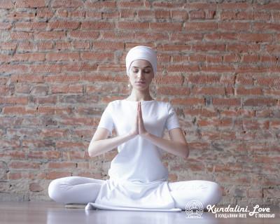 Медитация Семь волн Сат Нам картинка