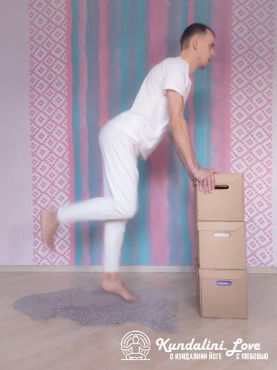 Невесомый бег. Упражнение Кундалини Йоги картинка
