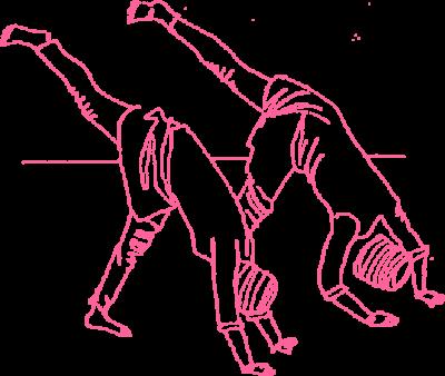 Отжимания в позе треугольника. Упражнение Кундалини Йоги картинка