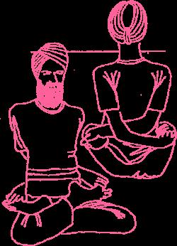 ПозаПереплетенного Лотоса в Кундалини Йоге картинка