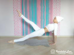 Поднятие ног в Позе Задней Платформы 3. Упражнение Кундалини Йоги картинка