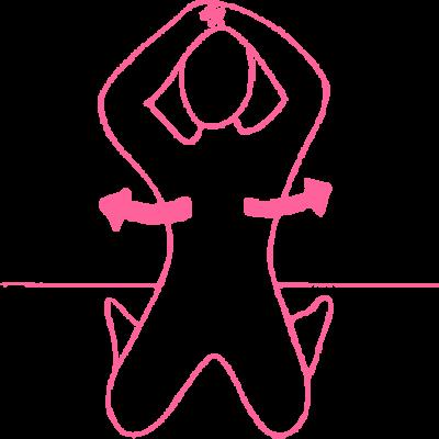 Повороты влево-вправо в Позе Холостяка — упражнение Кундалини Йоги картинка