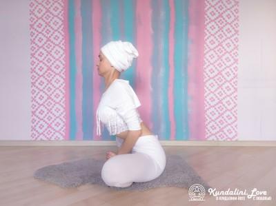 Поза Бабочки 3. Упражнение Кундалини Йоги картинка