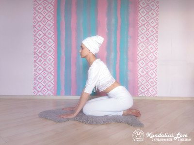 Поза Сфинкса 1. Упражнение Кундалини Йоги картинка