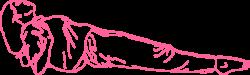 Поза Задней Платформы на локтях — Упражнение Кундалини Йоги картинка