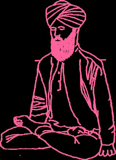 Поза лотоса в Кундалини Йоге картинка