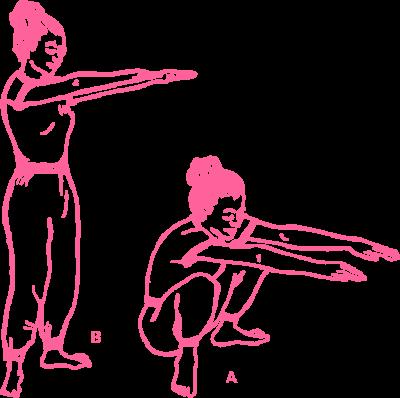Упражнение «Поза Ворона» в Кундалини Йоге картинка