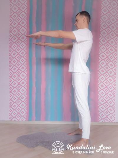 Приседания в Позу Ворона 1. Упражнение Кундалини Йоги картинка