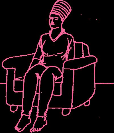 Сидение в кресле. Асана Кундалини Йоги картинка