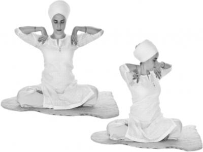 Скручивание позвоночника. Упражнение Кундалини Йоги картинка