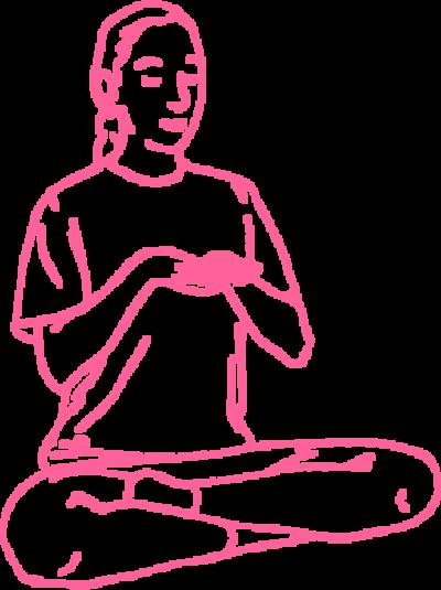 Субагх Крийя — упражнение 1, 1 картинка