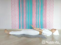 Цикл упражнений лежа на спине 1. Кундалини Йога картинка