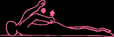 Упражнение Удары кулаками по ягодицам в Кундалини Йоге картинка