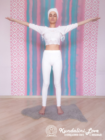 Упражнение из трех частей с мантрой Хар 3. Упражнение Кундалини Йоги картинка