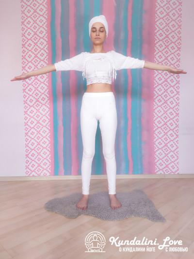 Упражнение из трех частей с мантрой Хар 4. Упражнение Кундалини Йоги картинка