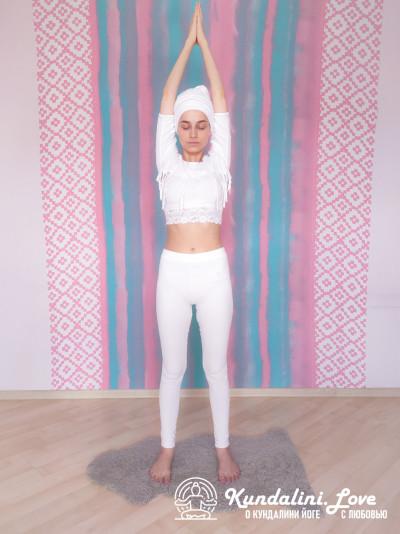 Упражнение из трех частей с мантрой Хар 1. Упражнение Кундалини Йоги картинка
