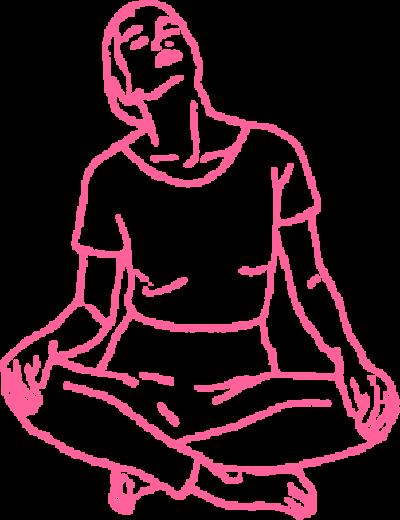 Круговые движения головой в Простой Позе. Упражнение Кундалини Йоги картинка