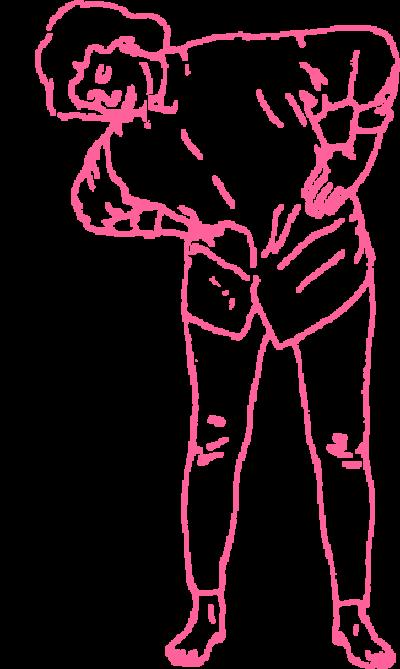 Круговые движения туловищем стоя. Упражнение Кундалини Йоги картинка
