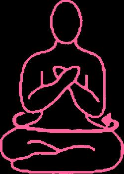 Вращения туловищем в Простой Позе (руки на груди). Упражнение Кундалини Йоги картинка