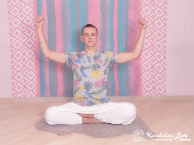 Круговые движения кулаками. Упражнение Кундалини Йоги 2 картинка