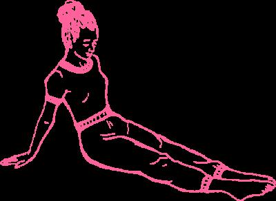 Упражнение «Задняя Платформа» в Кундалини Йоге 1 картинка